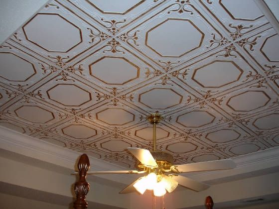 Photo of nice ceiling tiles.