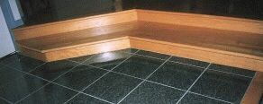 Thumbnail size photo of hardwood steps.
