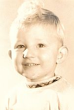 Photo of our webmaster and my brother, Dan, when he was 3.