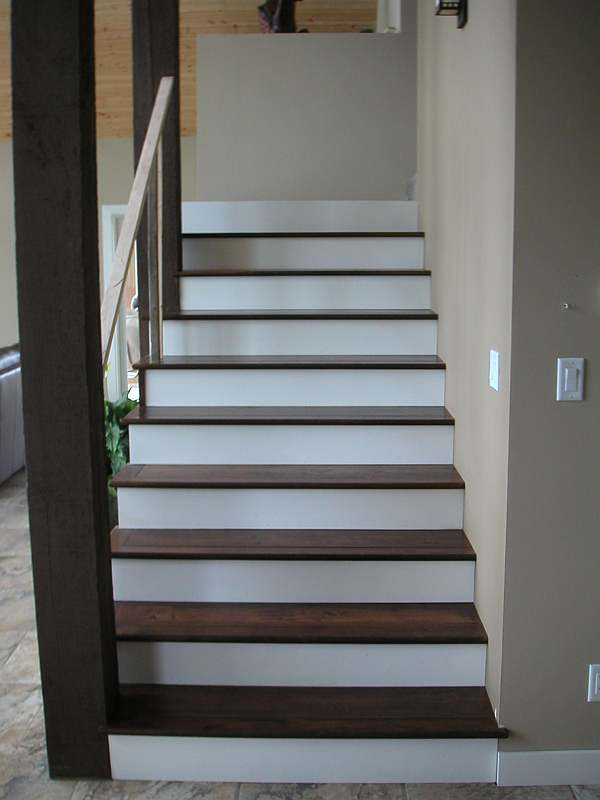 Photo of stairs built by a member of our site.