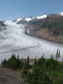 Salmon Glacier in Stewart BC