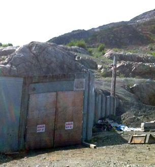 The Granduc Mine portal in 2019.